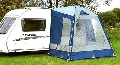 quest caravan awnings quest elite instant porch blue and grey quick erect caravan porch awning ebay