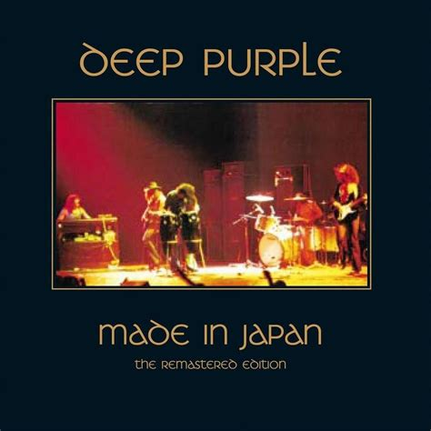 deep purple plays perfect strangers live in japan made in japan remastered total 10 tracks by deep
