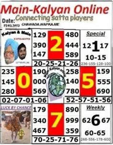 kalyan me 4 ank open to close nikalne ka formula picture 5