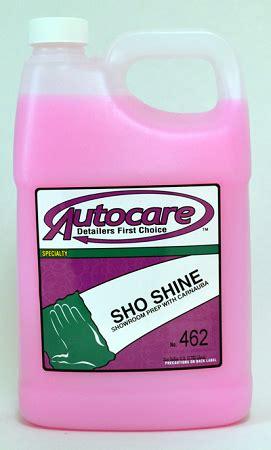 Sho Wax sho shine gallon