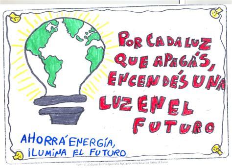 afiches alusivos al ahorro de energia volver