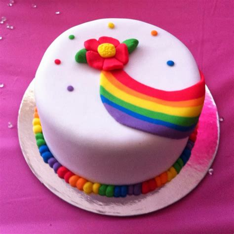 Cake Rainbow Decoration by Cakes And Dates Rainbow Mini Cake Class In
