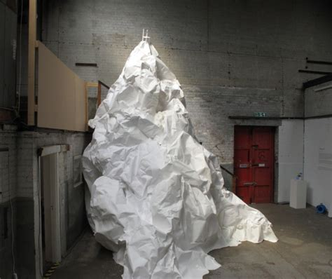 How To Make Paper Mountain - 187 installation
