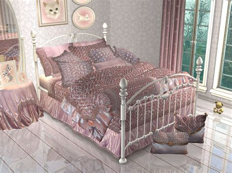 3 on a bed mod the sims project quot maiden s bedroom quot part 4 pillows