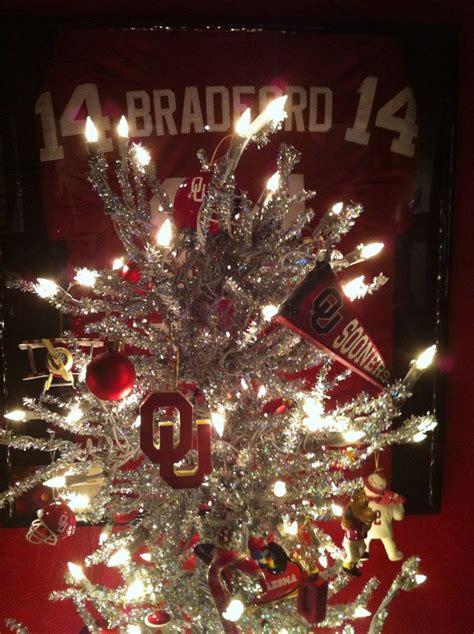 my ou christmas tree christmas pinterest
