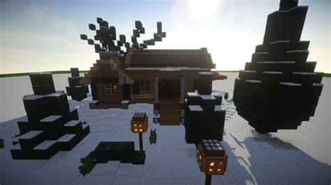 Minecraft Winter Cabin by Cozy Winter Cabin Update Minecraft Project