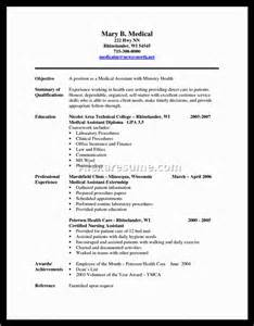 Sle Resume For Sales Assistant With No Experience assistant resume sles no experience 28 images