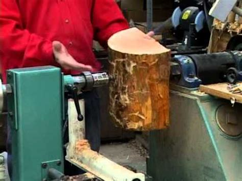 lyle  mounting wood blanks   lathe youtube
