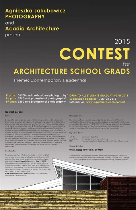 Giveaway Poster - agnieszka jakubowicz photography contest for grads official contest poster