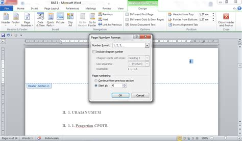 cara membuat titik pada daftar isi agar sejajar cara membuat daftar isi otomatis membuat halaman pada