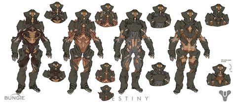 analyzing fallout 4 concept art aliens boss enemies destiny concept art by daniel chavez concept art world