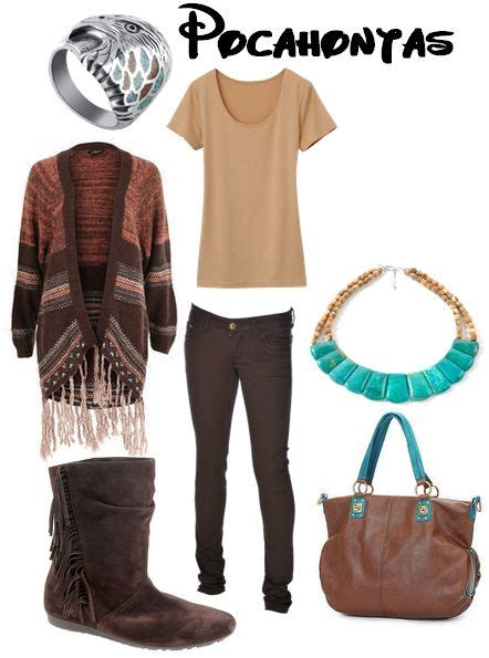 cute comfortable outfits for disneyland pocahontas for winter inspired outfits pinterest