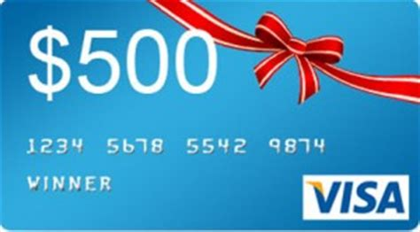 25 Visa Prepaid Gift Card - win 500 visa prepaid gift card free stuff finder canada
