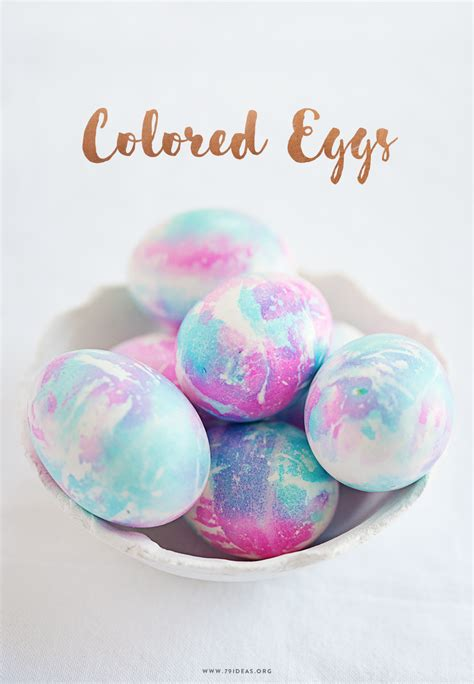 colorful eggs diy colored easter eggs 79 ideas