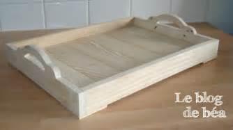 diy plateau en bois de palette le de b 233 a