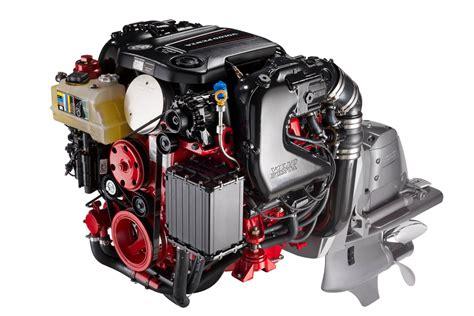 volvo v6 volvo penta debuts new marine engines