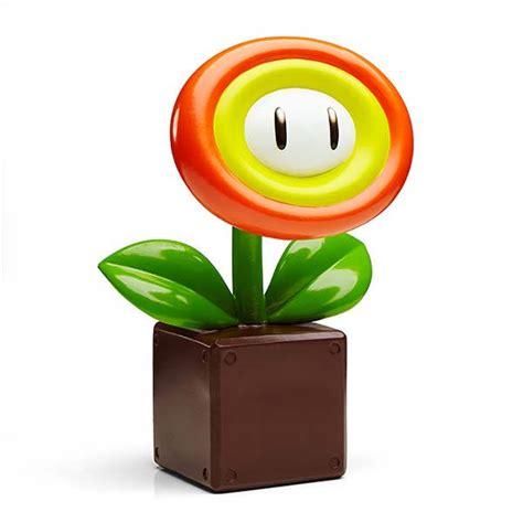 nintendo super mario fire flower garden statue gadgetsin