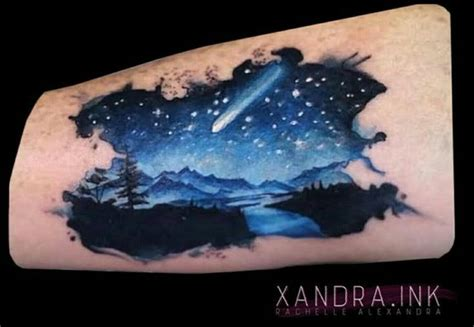 night sky tattoo best 25 ideas on sky