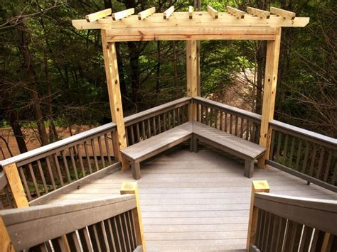 deck benches built in deck bench deck bench built in bench double stairs