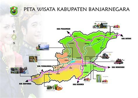 dieng plateau peta wisata