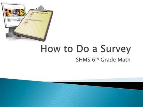 how to do a survey - Do A Survey