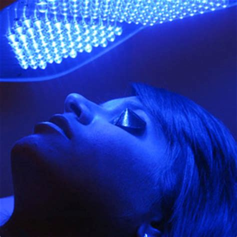 blue led light therapy integrity skincare light therapy to the rescue