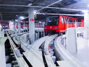Car Rental Inside Atlanta Airport Bombardier Opens Mover At Atlanta Airport Railway