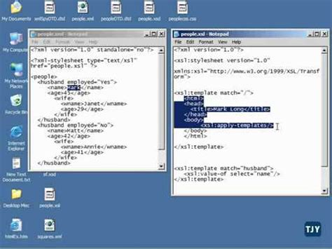tutorial xml xsl xml tutorial 58 xsl templates pt 2 youtube