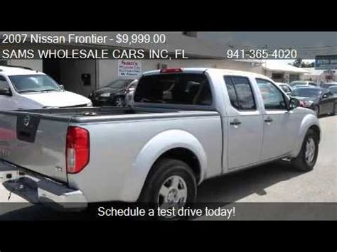 2007 nissan frontier sale 2007 nissan frontier se crew cab bed 2wd for sale