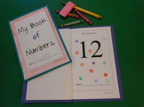 number 11 a novel books make your own tactile number book creative preschool