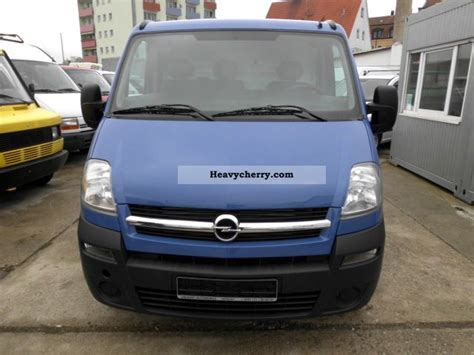 opel movano 2008 opel movano 2 5 tdci 2008 box type delivery van photo and