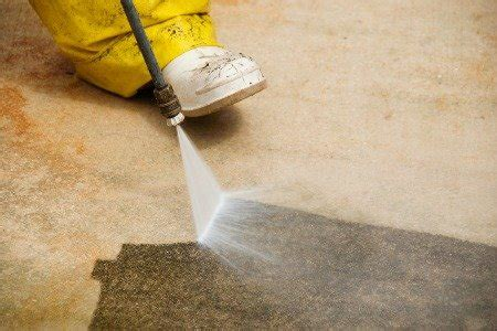 cleaning paint concrete doityourself