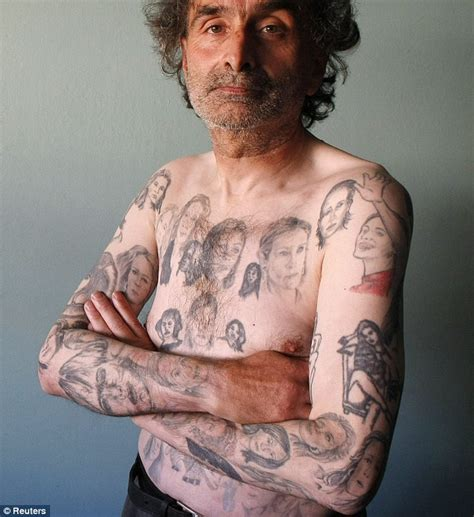 tattoo pen argos julia roberts fan has 82 tattoos of her face on his body