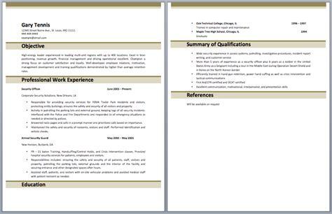 personal summary resume resume badak