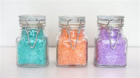 Handmade Bath Salts - how to make your own bath salts