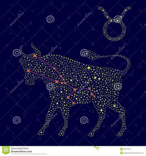 Sternzeichen Löwe Stier sternzeichen stier 252 ber sternenklarem himmel stock