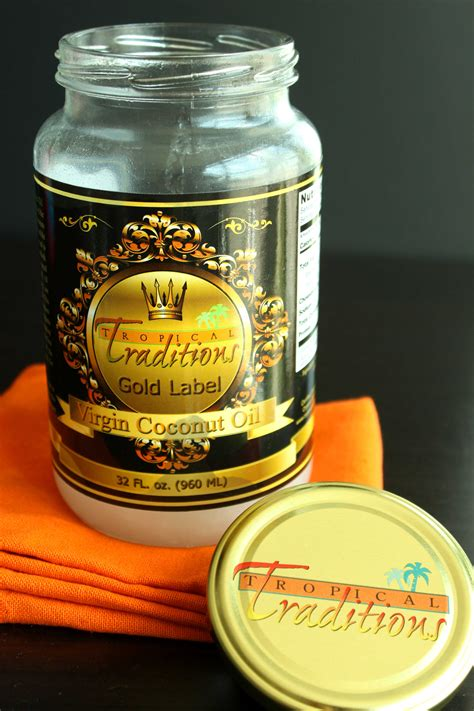Coconut Oil Giveaway - tropical traditions gold label virgin coconut oil giveaway and recipe
