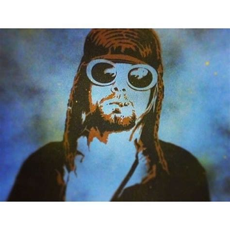 Jam Tangan Custom Istimewa Kuyt Cobain kurt cobain tribute spray paint on canvas by artist rayferrer plutoniumpaint spraypaint