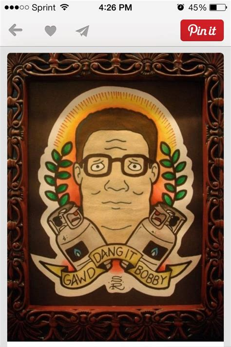 king of the hill tattoo hank hill king of the hill