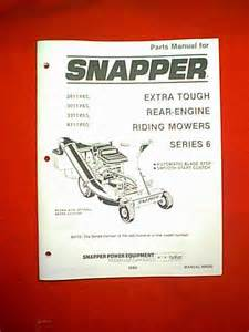 Snapper Rear Engine Extra Tough Series 6 Riding Mower