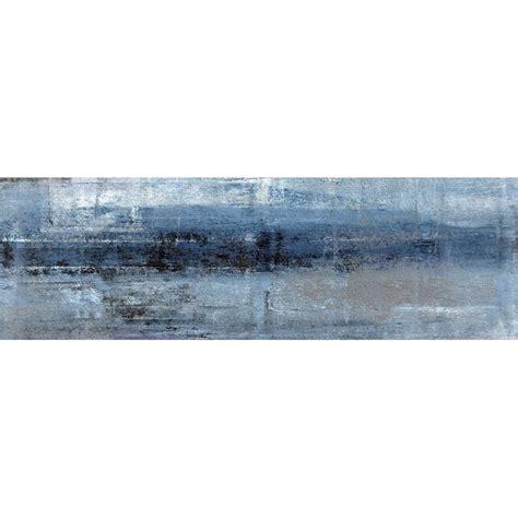 Bunnings Splashbacks For Kitchens by Bellessi 725 X 2440 X 6mm Blue Motiv Splashback
