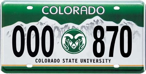 License Plate Address Lookup Official Csu License Plates Alumni