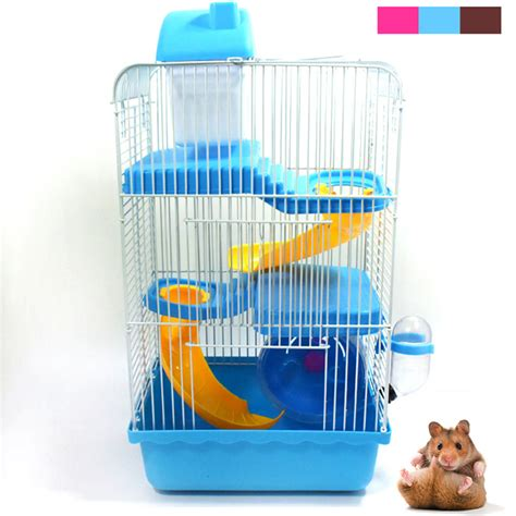new hamster mouse cage 3 storey gorgeous small castle