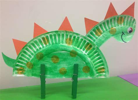 paper dinosaur craft dinosaur storytime narrating tales of preschool