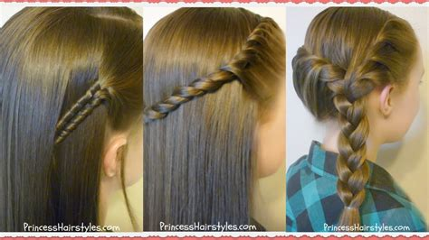 hairstyles for easy back to school 3 easy back to school hairstyles