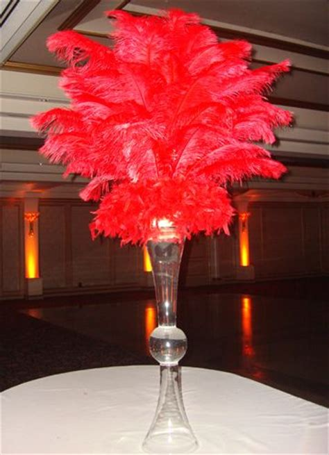 35 Best Beach Themed Hawaiian Themed Surf Themed Tropical Ostrich Feather Centerpieces For Rent