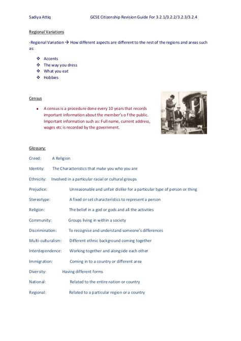 gcse revision notes for 151416342x gcse citizenship revision notes year 10