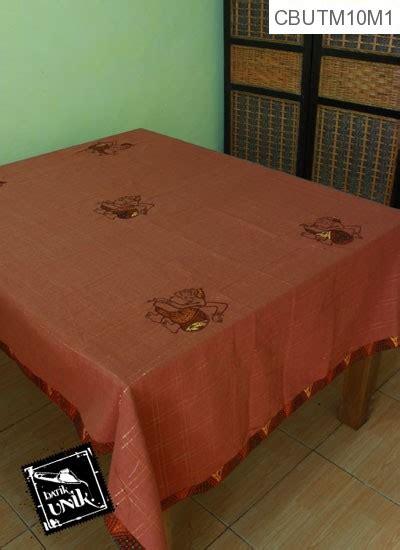 Taplak Meja Makan Rajut taplak meja makan motif semar batik taplak meja batik