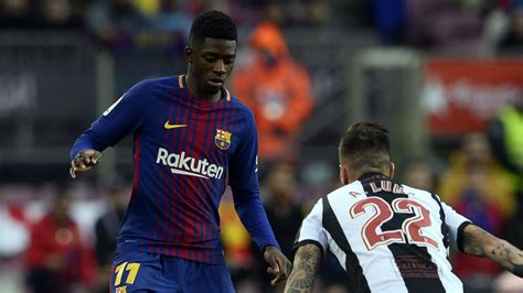 ousmane dembele knee injury january transfer news rumours man utd behind barcelona