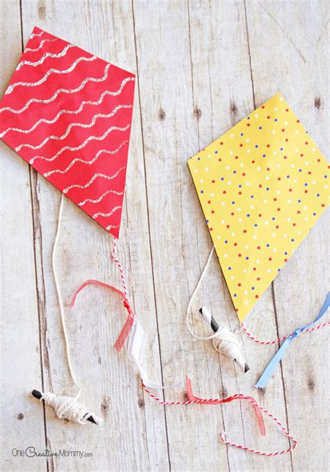 Of Kite With Paper - bust boredom with these adorable mini paper kites